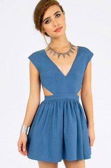 Schrock Frock Cutout Dress $39