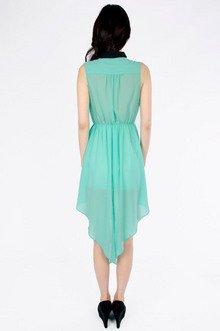 Lace Trim Tank Dress $33