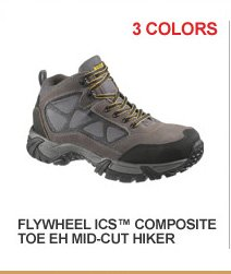 Flywheel ICS Composite Toe EH Mid-Cut Hiker