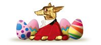 Mr.Fox has a cheeky Easter Gift in mind