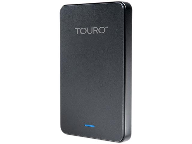 HGST Touro Mobile 1TB USB 3.0 Black External Hard Drive HTOLMX3NA10001ABB