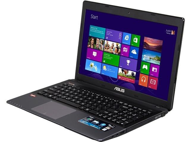 ASUS K55N-DS81 Notebook Allwinner Cortex A8 A8-4500M(1.90GHz) 15.6 inch 4GB Memory 500GB HDD 5400rpm DL DVD+-RW/CD-RW AMD Radeon HD 7640G
