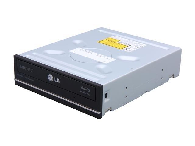 LG Black 12X BD-ROM 16X DVD-ROM 48X CD-ROM SATA Internal 12X Blu-ray Combo Drive Model UH12NS29 - OEM