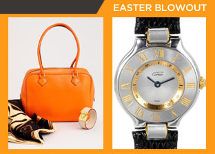 Easter Weekend Blowout: Luxury Accessories