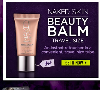 Naked Skin Beauty Balm Travel Size - An instant retoucher in a convenient, travel-size tube.  Get It Now >