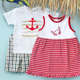 Coastal Classics: Kids' Apparel