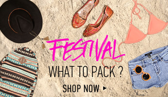 Festival: What to Pack - Shop Now