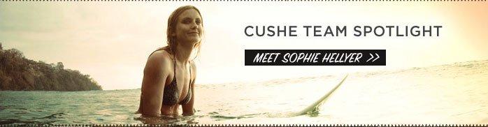 Cushe Team Spotlight Meet Sophie Hellyer