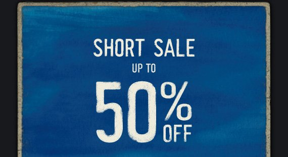 SHORT SALE UP TO 50%  OFF