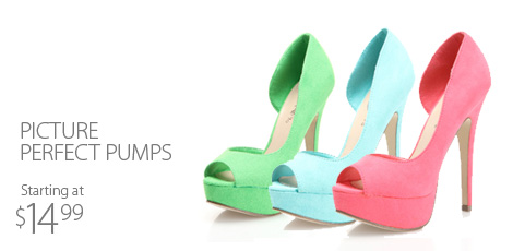 Picture Perfect Pumps