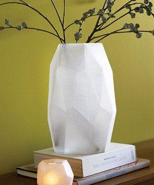 Frosted Form Vase