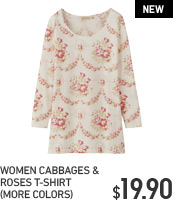 CABBAGES & ROSES T-SHIRT