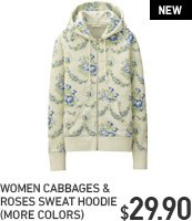 CABBAGES & ROSES SWEAT HOODIE