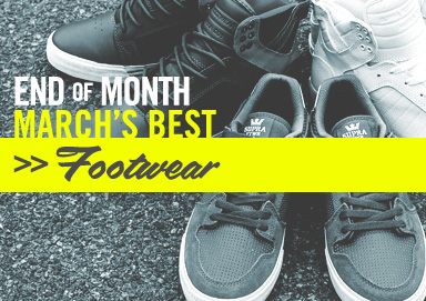 Shop Best of March: Footwear