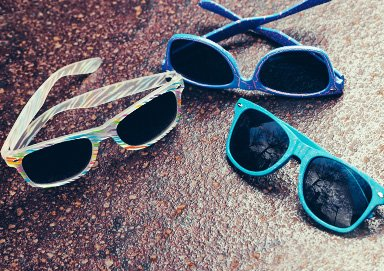 Shop Shades ft. Clear & Colored Wayfarers
