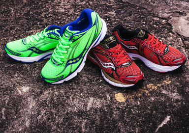 Shop Get Fit: New Saucony Athletic Shoes