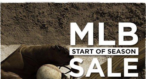 MLB Start of Season Sale