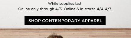 Shop Contemporary Apparel