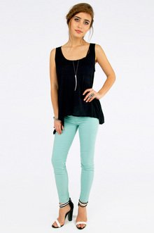Basic Pocket Tank Top $14