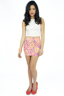Diamonds are Forever Tribal Skirt $32