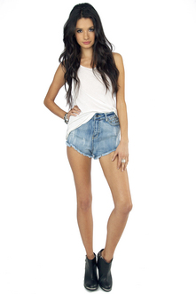 Fancy Lady Cut Off Shorts $32