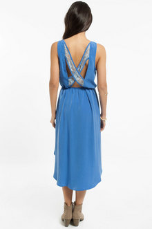 Sonia Lace Cross Back Dress $43