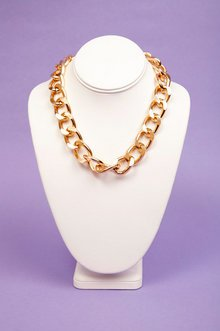 Single Chain Curb Necklace $7