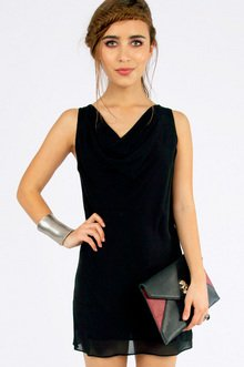 Don't Have A Cowl Dress $36