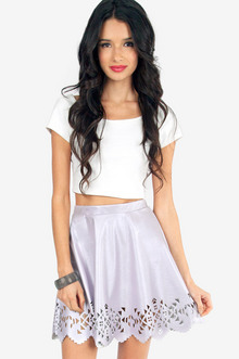 Cut It Out Skater Skirt $28