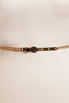 Thin Chain Link Belt $8