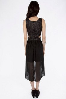 Glam Asymmetric Dress $35