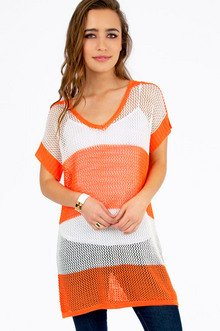 Spaced Out Knit Tunic $39