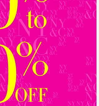Starting Today: EVERYTHING IS 50% to 70% OFF!!