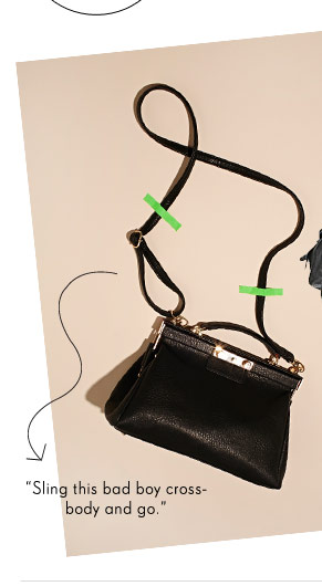 Sling this bad boy crossbody and go