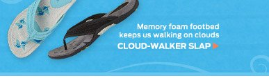 Cloud Walker Slap ›