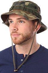 The Woodland Camouflage Vintage Boonie Hat