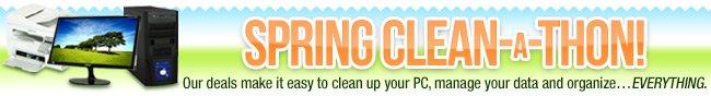 Spring Clean-A-Thon