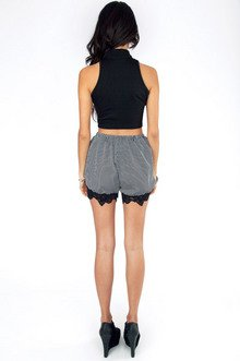 Lingering Laced Shorts $26