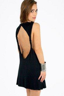 Twist to Open Dress $28