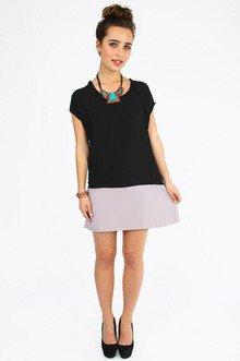 Scoop And Block Dress $32