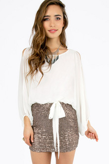 Fair Lady Combo Dress $35