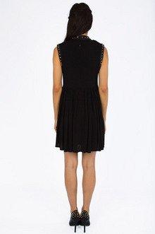 Brandi Sleeveless Studded Dress $44