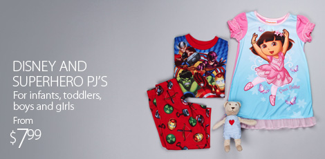 Hello Kitty And Super Hero PJ's