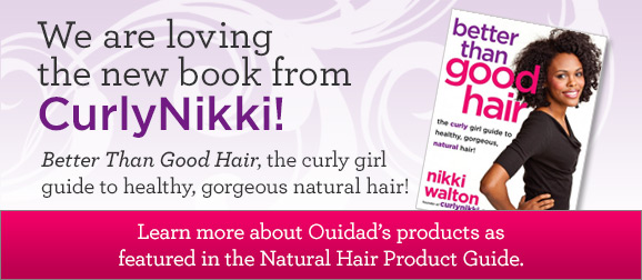We are loving the new book from CurlyNikki!