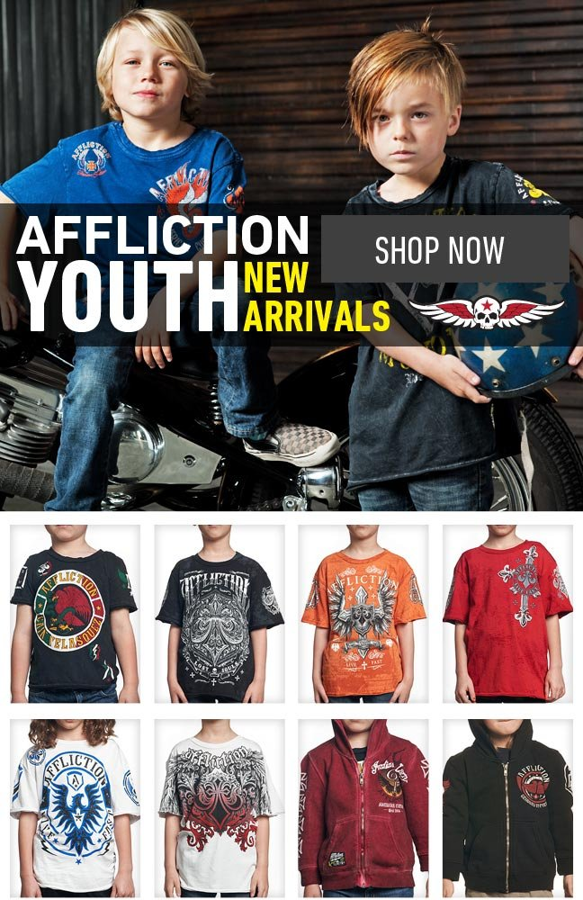New Affliction Kids Styles