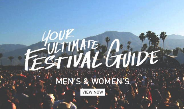 Gear up for Festival Season with Karmaloop Festival Guide Lookbook
