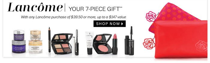 Lancôme Shop Now