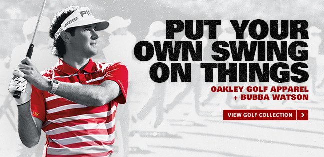 PUT YOUR OWN SWING ON THINGS | VIEW GOLF COLLECTION