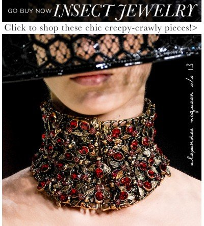 Why We're Buzzing About Stylish Insect Jewelry
