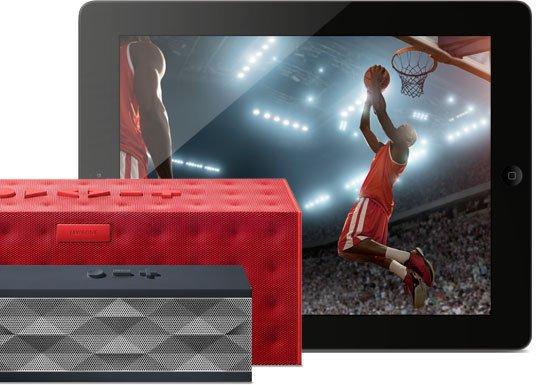 JAMBOX and BIG JAMBOX with Basketball Image